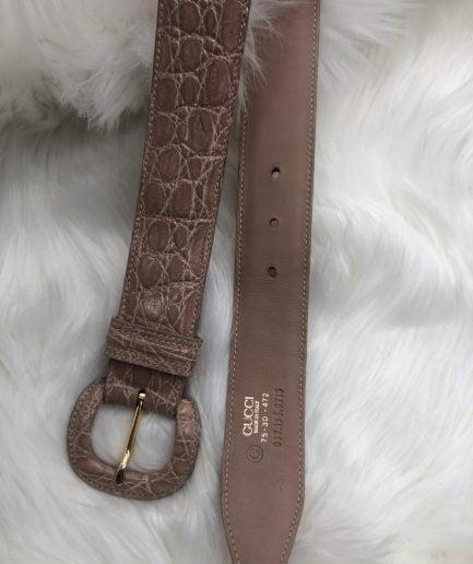 Gucci Cintura in Pelle Rosa